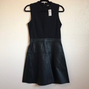 Kate Spade Saturday Lambs Leather Dress NWT Size 6
